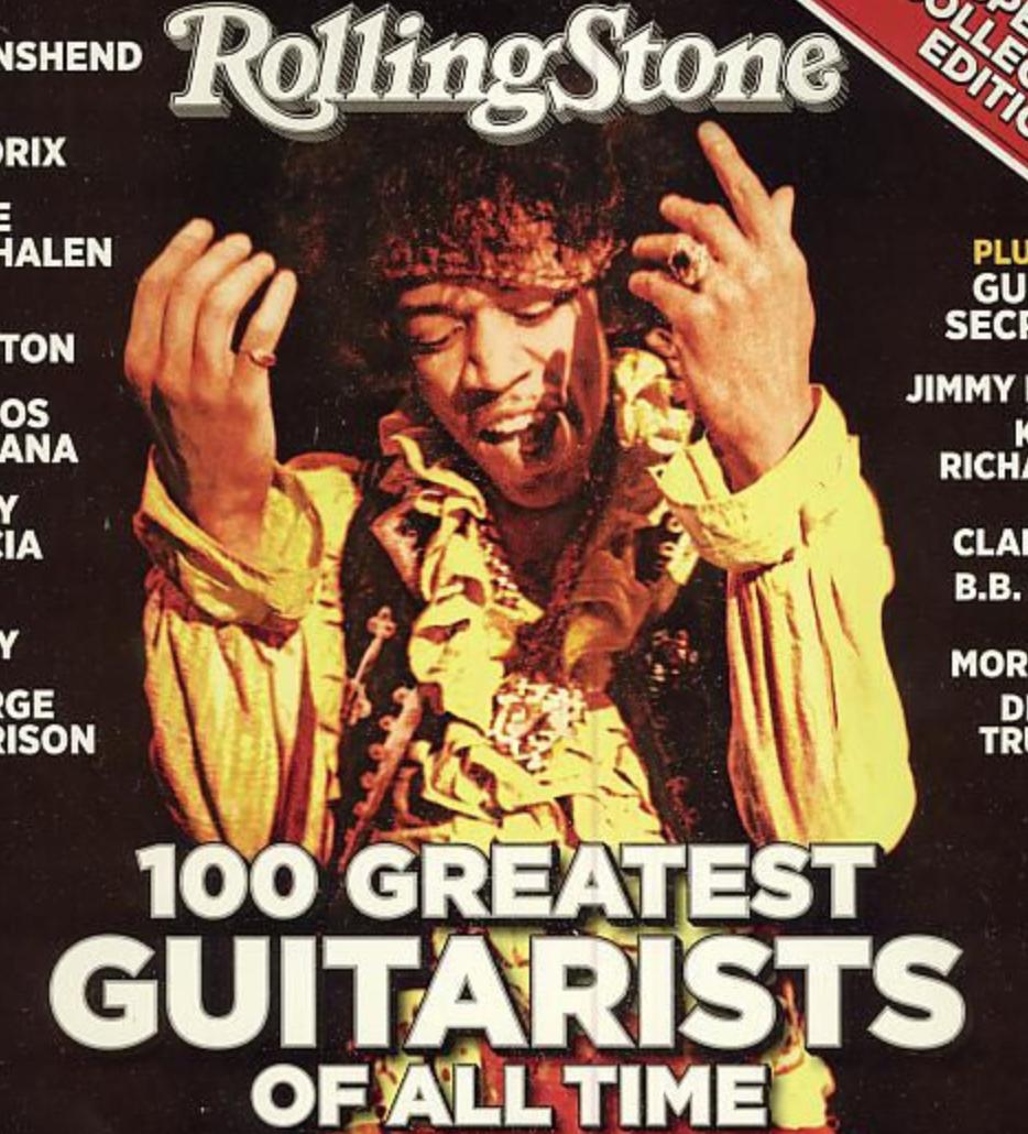 ローリング・ストーン誌の選ぶ歴史上最も偉大な100人のギタリスト(2011)